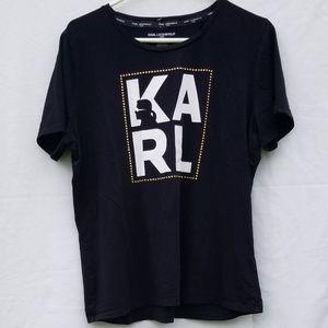 Karl Lagerfeld t shirt LG